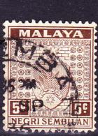 Malaiische Staaten V - Negri Sembilan - Wappen (MiNr: 25) 1935 - Gest Used Obl - Negri Sembilan