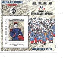 CNEP N°66 SALON DU TIMBRE PARIS 2014 - CNEP