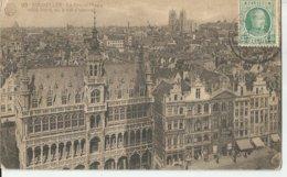 BRUXELLES VIAGGIATA 1929   (201) - Altri