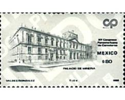 Ref. 44166 * MNH * - MEXICO. 1986. 15 CONGRESO PANAMERICANO DE CARRETERAS - Coches