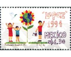 Ref. 182732 * MNH * - MEXICO. 1994. ORGANIZACION DE NIÑOS VOLUNTARIOS POR LA PAZ Y EL DESARROLLO - México