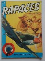 RAPACES N°  8 - Livres, BD, Revues