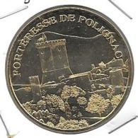 Jeton Touristique 43 Polignac Forteresse 2007 - Monnaie De Paris