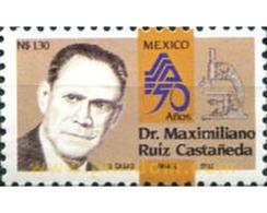Ref. 343653 * MNH * - MEXICO. 1993. DOCTOR MAXIMILIANO RUIZ CASTAÑEDA - México