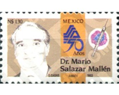 Ref. 343656 * MNH * - MEXICO. 1993. DOCTOR MARIO SALAZAE MALLEN - México