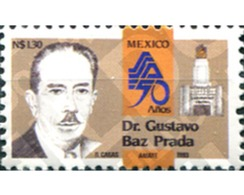 Ref. 343660 * MNH * - MEXICO. 1993. DR. GUSTAVO BAZ PRADA - México