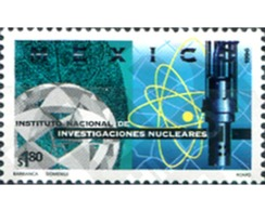 Ref. 343752 * MNH * - MEXICO. 1996. INSTITUTO NACIONAL DE INVESTIGACIONES NUCLEARES - México
