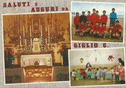 SALUTI E AUGURI DA GIGLIO C  (214) - Saluti Da.../ Gruss Aus...