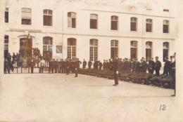 PHOTO FORMAT 15 X 10 ECOLE POLYTECHNIQUE DE PARIS MONOME RASSEMBLEMENT DES JEUNES ELEVES 1929 LECTURE CODE X - Photographs