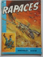 RAPACES N°  12 - Livres, BD, Revues