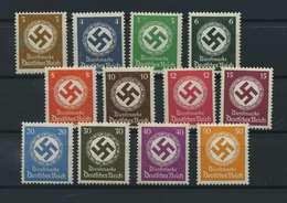 DEUTSCHES REICH 1934/38 Nr D132-143 Postfrisch (118201) - Dienstpost