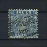 BADEN 1862 Nr 14 Gestempelt (118235) - Baden