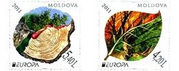 Ref. 267862 * MNH * - MOLDOVA. 2011. EUROPA CEPT 2011 - AÑO INTERNACIONAL DE LOS BOSQUES - Europa-CEPT