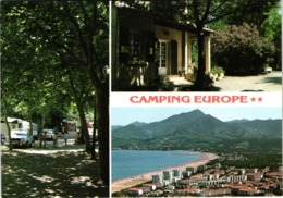 FR66 ARGELES SUR MER - CPM 10 * 15 - Camping - Animée - Belle - Francia