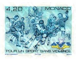 Ref. 67816 * MNH * - MONACO. 1998. SPORTS WITHOUT VIOLENCE . POR UN DEPORTE SIN VIOLENCIA - Handbal
