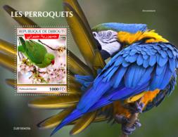 Djibouti 2019 Fauna  Parrots S201908 - Djibouti (1977-...)