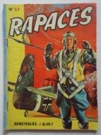 RAPACES N° 37 - Books, Magazines, Comics