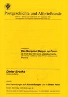 """Das Marquisat """"Bergen Op Zoom"""" 1728 - 1801 (Wittelsbach) - Von Horst Doederichs (DASV) PgA 150 Aus 2002 - Deutschland"""