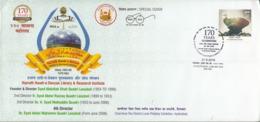 India 2018  Hazrath Haadi - E - Deccan Library & Research Institute  Special Cover  #  23154  D    Inde Indien - Islam