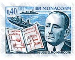 Ref. 32857 * MNH * - MONACO. 1974. CENTENARY OF THE BIRTH OF G. MARCONI . CENTENARIO DEL NACIMIENTO DE G. MARCONI - Zonder Classificatie
