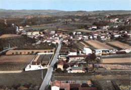 SAINT-BARTHELEMY - Vue Générale Aérienne Et Route De Saint-Vallier - Andere Gemeenten