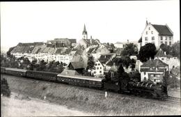 Photo Cp Engen Im Hegau, Dampflokomotive 39 060 Vor Personenzug D 8 - Germania