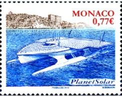 Ref. 279104 * MNH * - MONACO. 2012. BARCO PLANET SOLAR - Bateaux