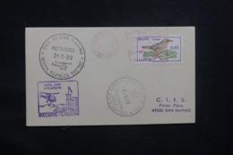 BRÉSIL - Enveloppe Par Hélicoptère De San Marino En 1969 , Voir Cachets  - L 43289 - Cartas