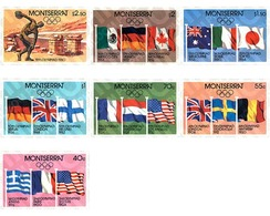 Ref. 87182 * MNH * - MONTSERRAT. 1980. GAMES OF THE XXII OLYMPIAD. MOSCOW 1980. OLYMPIC GUEST TOWNS FROM 1896 TO 1980 . - Summer 1896: Athens