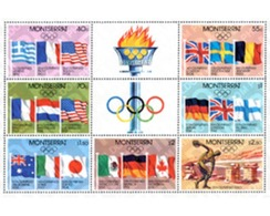 Ref. 87187 * MNH * - MONTSERRAT. 1980. GAMES OF THE XXII OLYMPIAD. MOSCOW 1980 . 22 JUEGOS OLIMPICOS VERANO MOSCU 1980 - Summer 1896: Athens