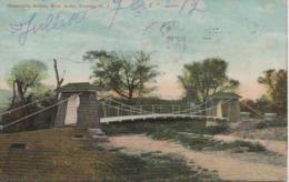 SUSPENSION BRIDGE RIVER DRIVE TRENTON  NJ   EN 1912 - Etats-Unis