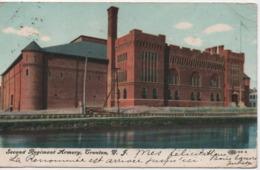 SECOND REGIMENT ARMORY TRENTON  NJ  EN 1908 - Etats-Unis