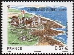 France N° 4679 - Série Touristique - La Pointe St Mathieu ( Finistère) - France