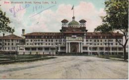 NEW MOUMOUTH HOTEL SPRING LAKE  N J  EN 1911 - Etats-Unis