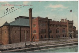 SECOND REGIMENT ARMORY TRENTON  NJ  EN 1913 - Etats-Unis