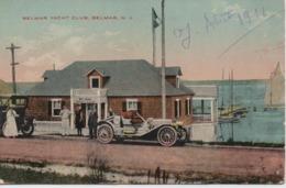 BELMAR YACHT CLUB BELMAR  N J  EN 1911 - Etats-Unis