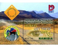 Ref. 269565 * MNH * - NAMIBIA. 2011. SEGURIDAD EN LA CARRETERA - Namibia (1990- ...)