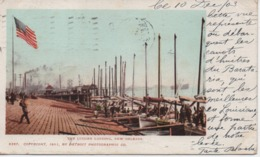 NEW ORLEANS   THE LUGGER LANDING      EN 1903 - New Orleans