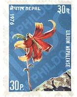 Ref. 229091 * MNH * - NEPAL. 1976. FLOWERS . FLORES - Nepal
