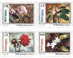 Ref. 94586 * MNH * - NEPAL. 1997. FLOWERS . FLORES - Nepal