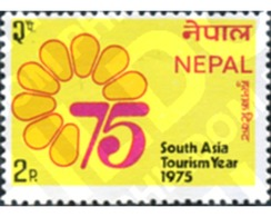 Ref. 354591 * MNH * - NEPAL. 1975. YEAR OF TOURISM IN ASIA . AÑO DEL TURISMO EN ASIA - Nepal