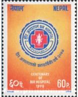Ref. 576808 * MNH * - NEPAL. 1990. CENTENARIO DEL HOSPITAL BIR - Nepal