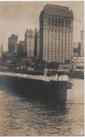 NEW YORK  CARTE PHOTO  ARRIVE AU PORT EN 1903 - Transports