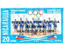 Ref. 26968 * MNH * - NICARAGUA. 1976. GAMES OF THE XXI OLYMPIAD. MONTREAL 1976 . 21 JUEGOS OLIMPICOS VERANO MONTREAL 197 - Summer 1956: Melbourne