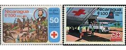 Ref. 44852 * MNH * - NICARAGUA. 1984. 50 ANIVERSARIO DE LA CRUZ ROJA EN NICARAGUA - Nicaragua