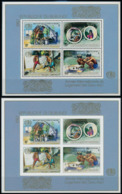 Burundi - BL124/124A - Année Internationale Du Logement Des Sans Abris - 1988 - MNH - 1980-89: Neufs