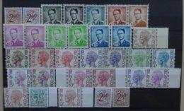 BELGIE  Dienstzegels   Lotje  Met Kleurnuances / Verschill. Papiersoorten    Postfris ** - Officials