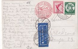 ALLEMAGNE 1933 PLI AERIEN DE KÖLN - Briefe U. Dokumente