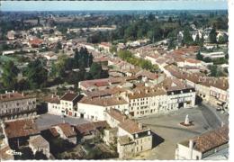 PONT DE VAUX - Vue Aérienne - Place Joubert - Pont-de-Vaux