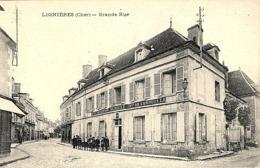 CPA 1918 - LIGNIERES, LA GRANDE RUE - - France